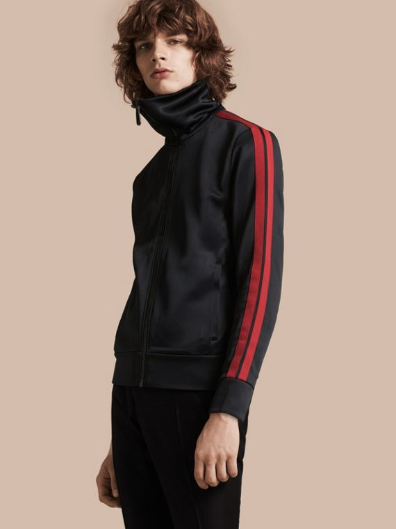 High-shine Technical Track Jacket