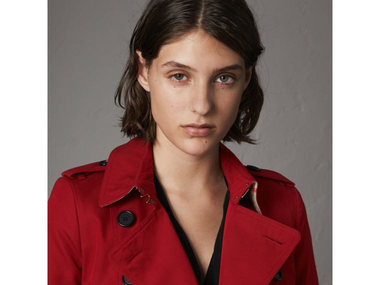 The Chelsea – Trench long (Rouge Parade) - Femme | Burberry - cell image 4