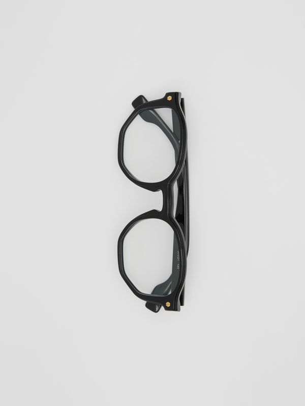 Geometric Optical Frames in Black - Women | Burberry - cell image 2