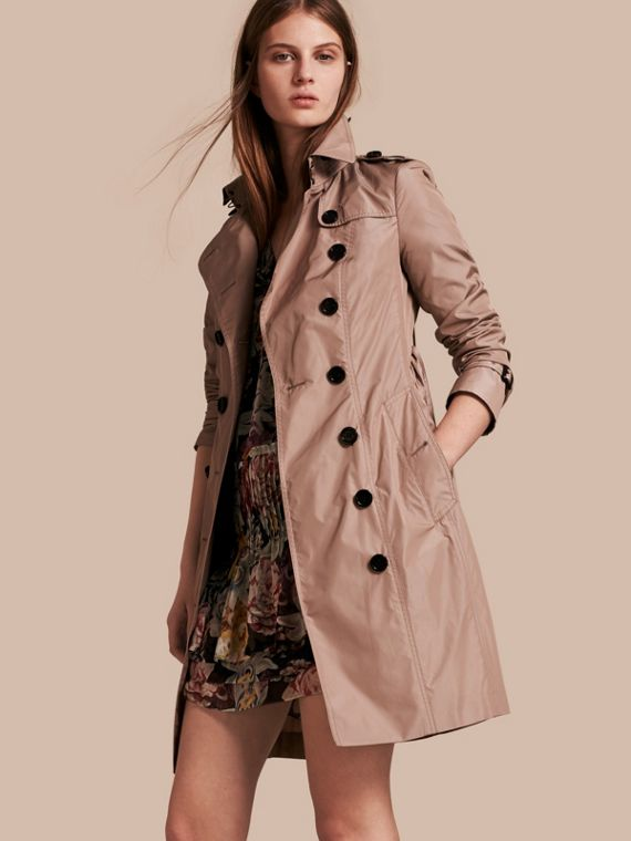 Long Technical Trench Coat