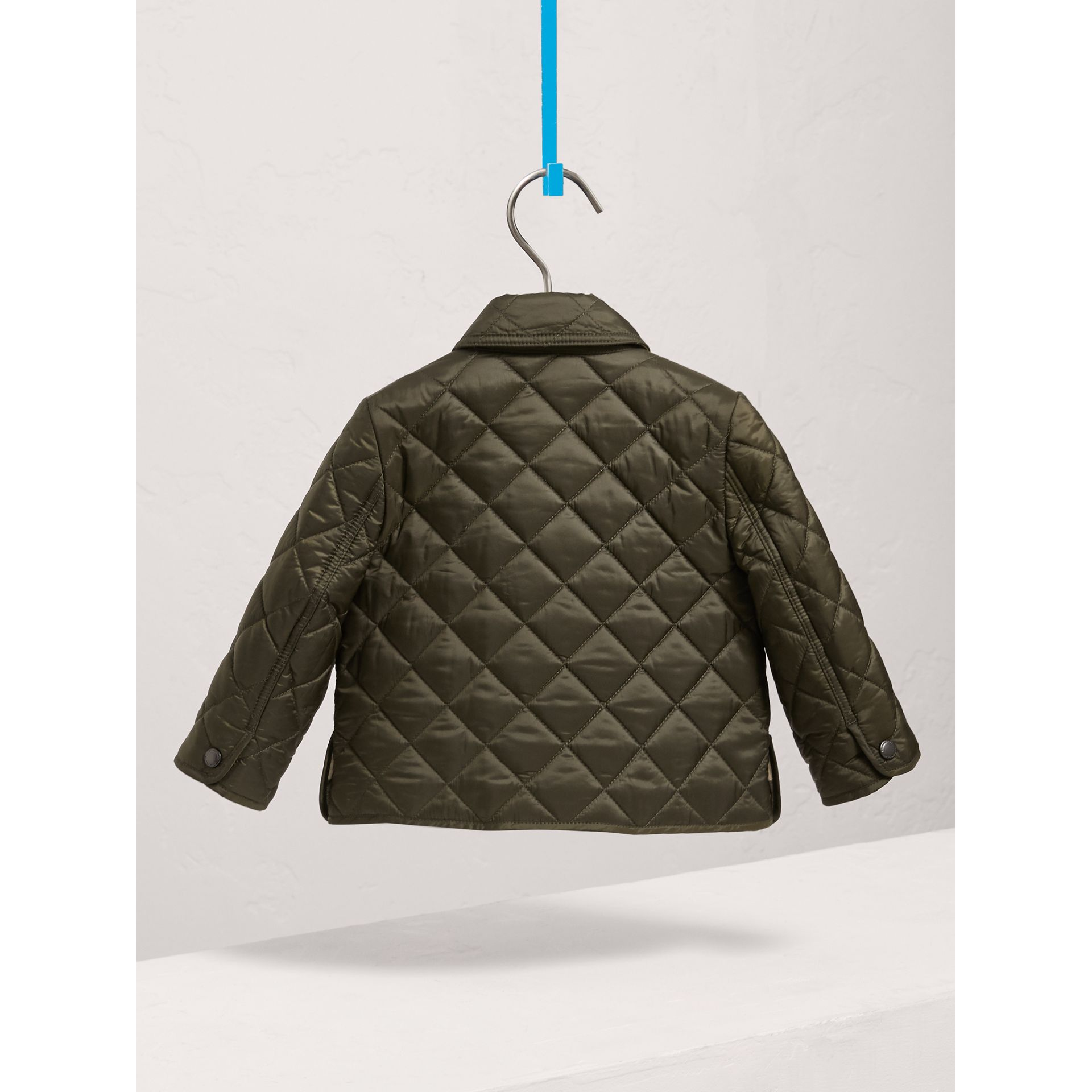 Lightweight Quilted Jacket in Olive | Burberry - gallery image 4