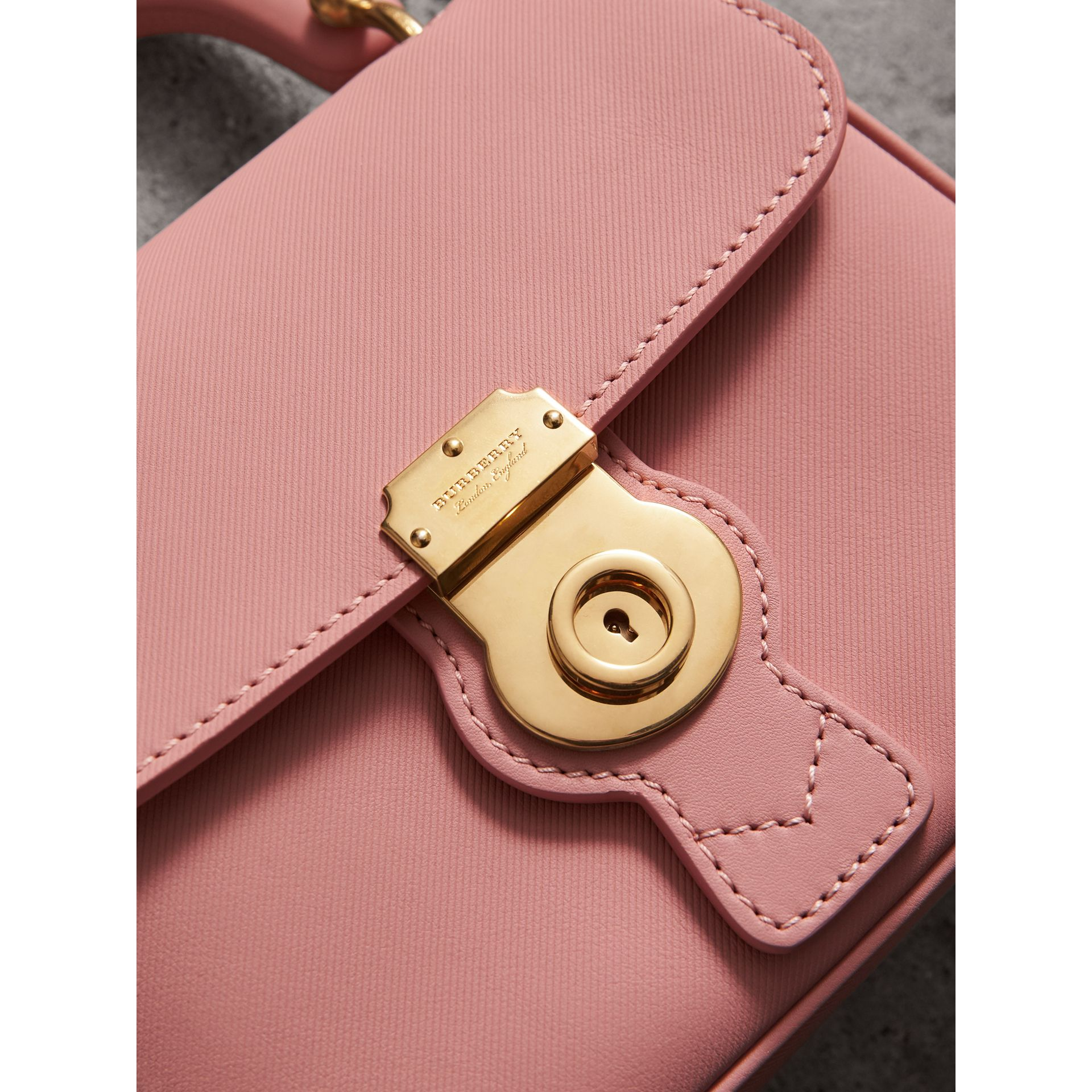 The Small DK88 Top Handle Bag in Ash Rose - Women | Burberry - gallery image 1