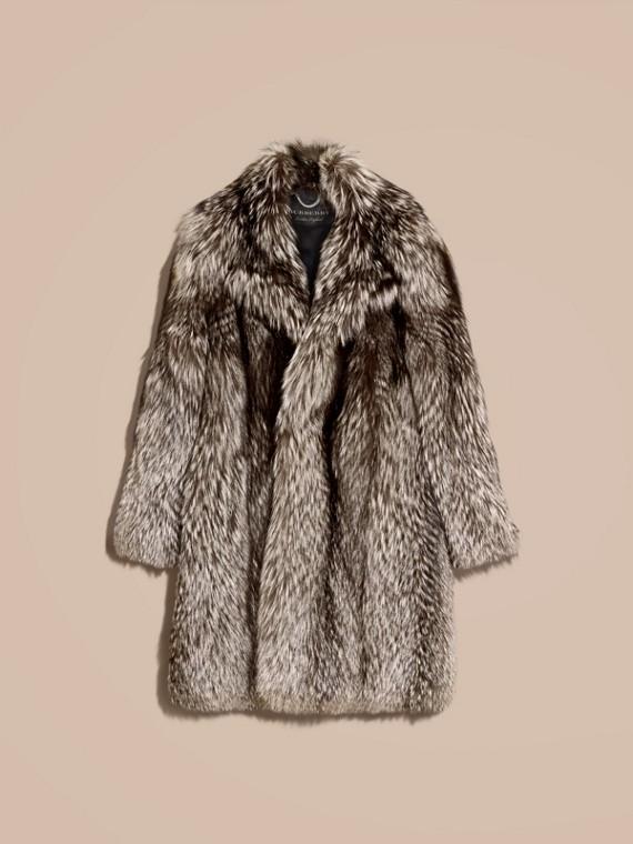Natural Fox Fur Coat - cell image 3