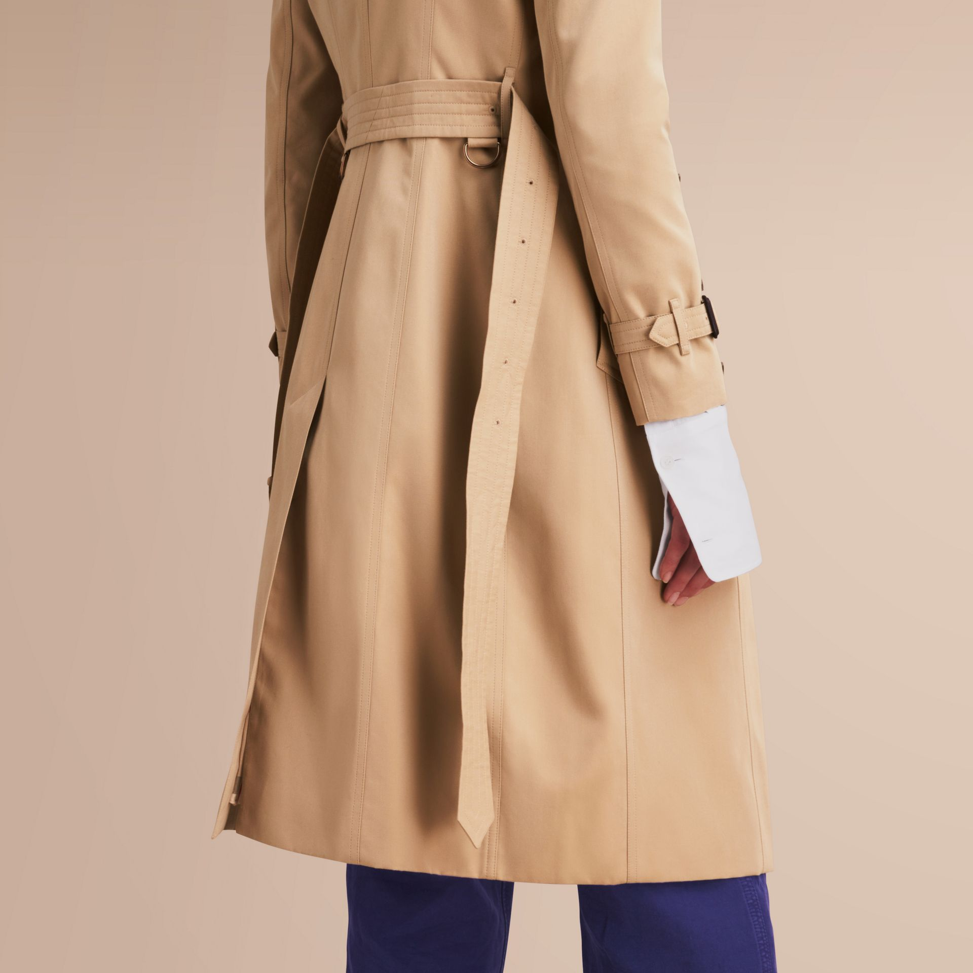 The Chelsea – Extra-long Heritage Trench Coat Honey - gallery image 6
