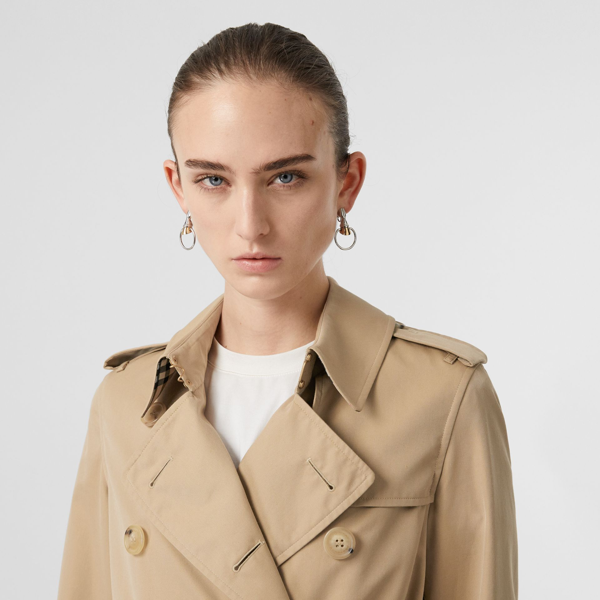 The Kensington – Trench Heritage long (Miel) - Femme | Burberry - photo de la galerie 1