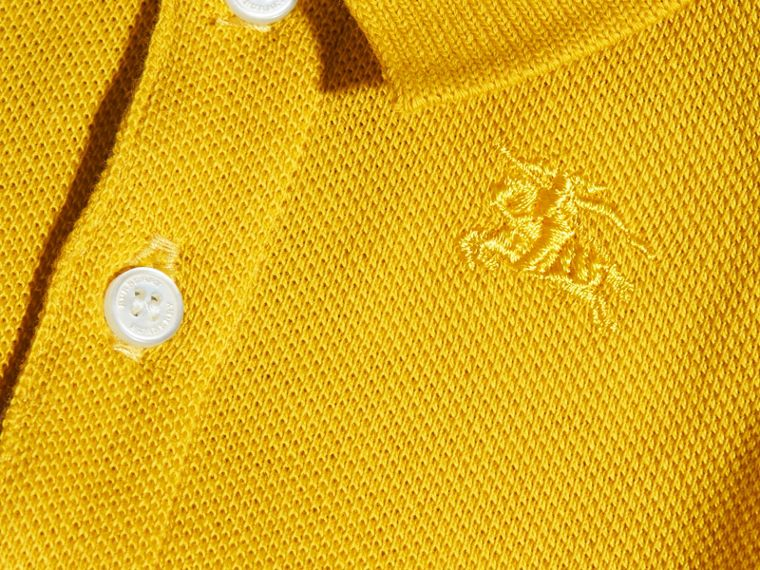Check Placket Polo Shirt | Burberry - cell image 1