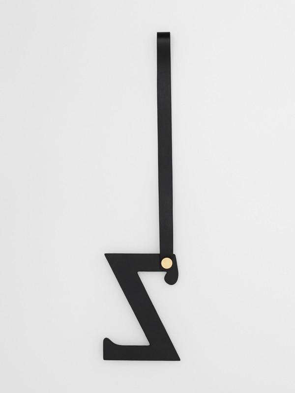 Ciondolo a forma di Z in pelle con borchie (Nero/oro Chiaro) | Burberry - cell image 2