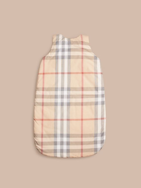 Check Cotton Baby Sleeping Bag