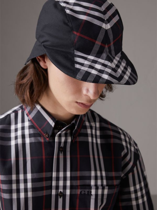Gosha x Burberry Duckbill Cap in Navy - Men | Burberry - cell image 2