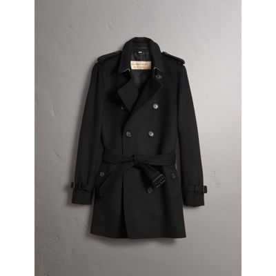 Wool Cashmere Trench Coat - Men | Burberry
