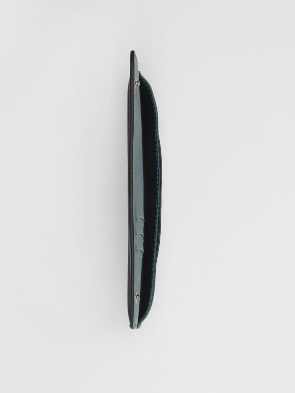 Portafoglio in pelle per telefono (Nero) - Donna | Burberry - cell image 2