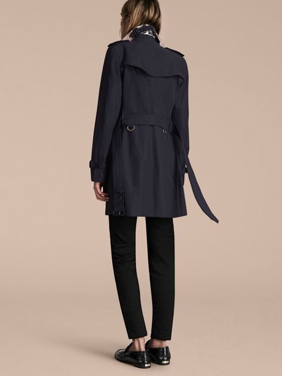 Navy The Kensington – Mid-Length Heritage Trench Coat Navy - cell image 2
