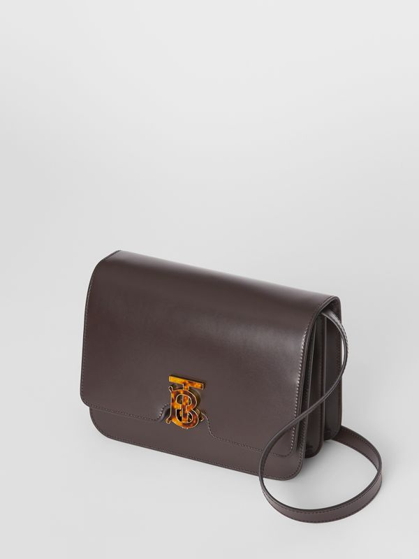 Medium Leather TB Bag in Coffee - Women | Burberry - cell image 3