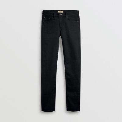 Burberry - Jean denim extensible de coupe étroite - 4