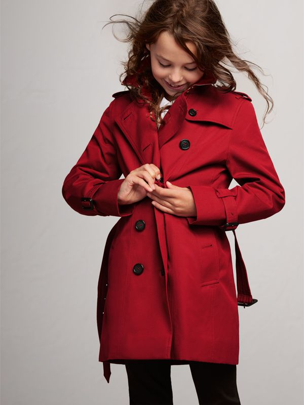 The Sandringham Trench Coat in Parade Red | Burberry United States - cell image 2