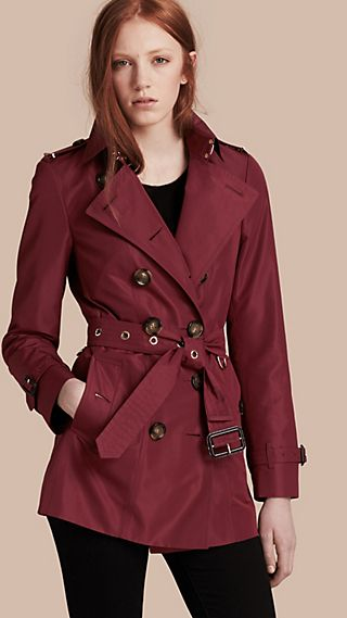 Slim Fit Showerproof Trench Coat