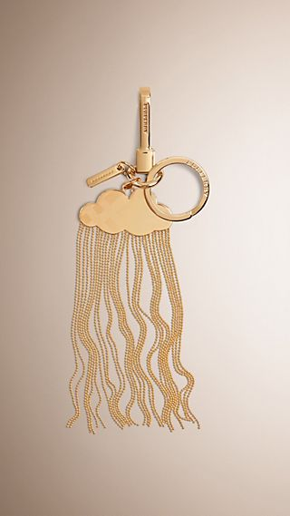 Cloud and Rain Metal Key Charm