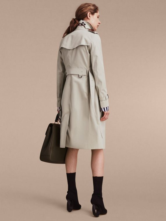Stone The Kensington – Extra-long Heritage Trench Coat Stone - cell image 3