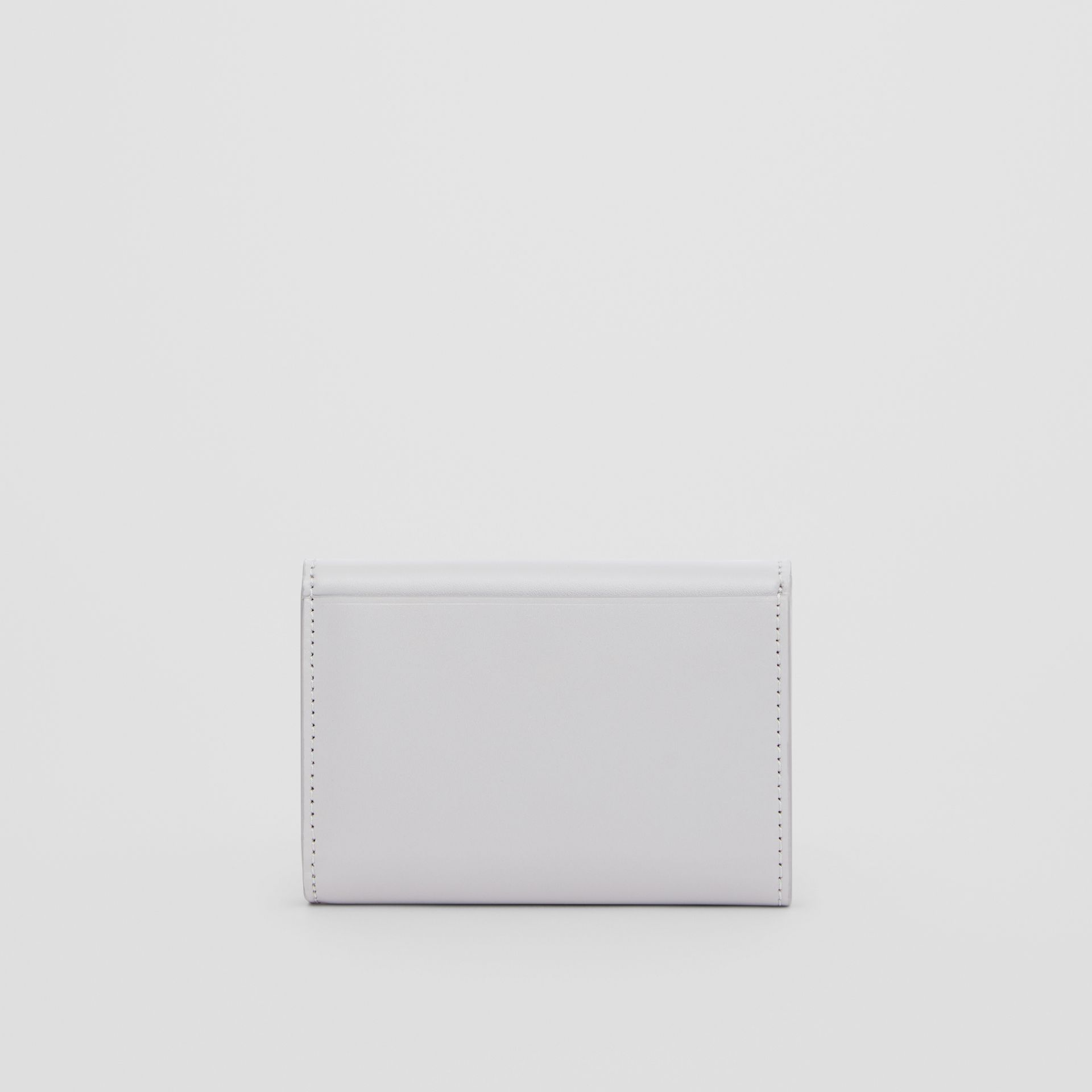 Horseferry Print Leather Folding Wallet in Heather Melange - Women | Burberry - gallery image 5