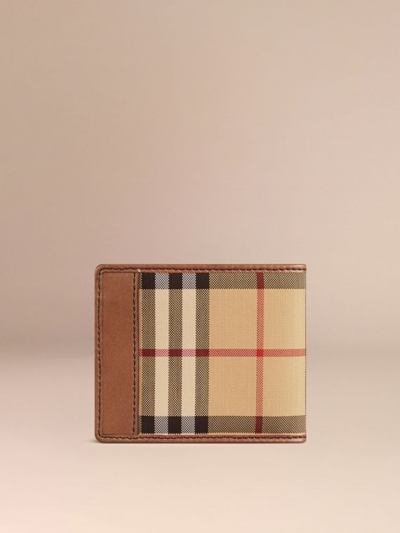 Horseferry Check ID Wallet Tan - cell image 2
