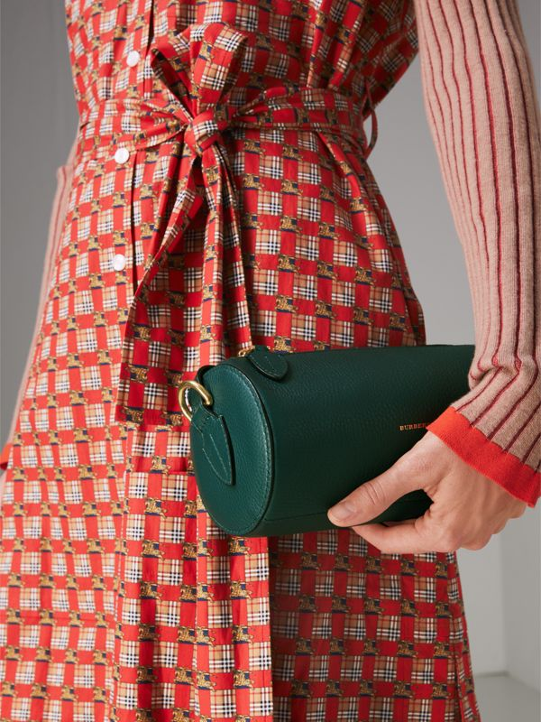 The Barrel Bag aus Leder (Dunkles Cyan) - Damen | Burberry - cell image 3