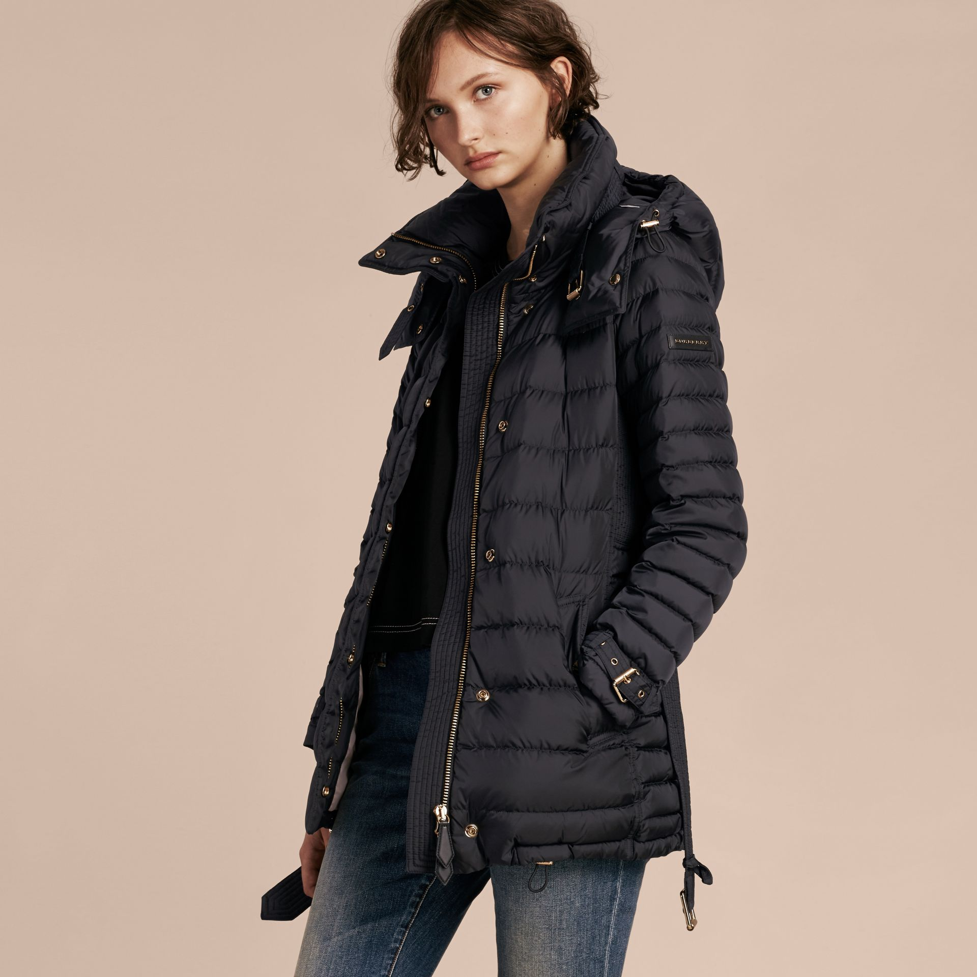Down-filled Puffer Jacket with Packaway Hood - Women | Burberry Canada - gallery image 7