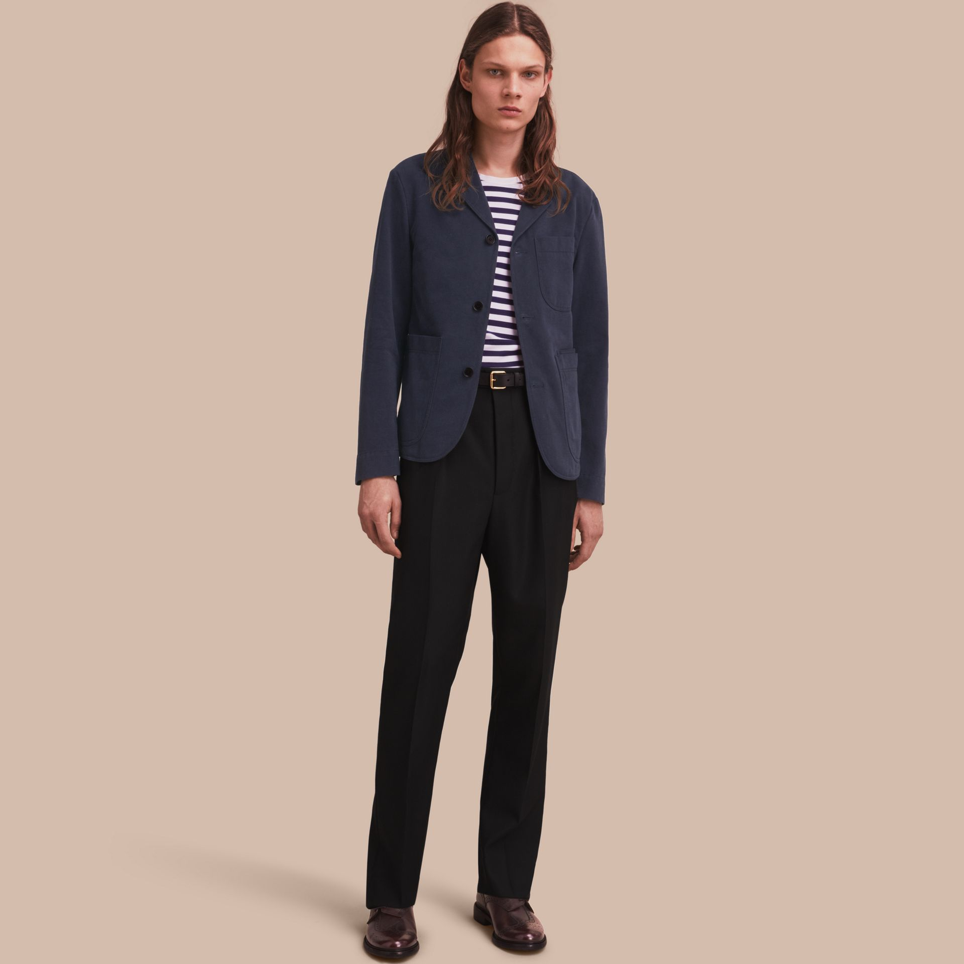 Cotton Workwear Jacket - gallery image 1