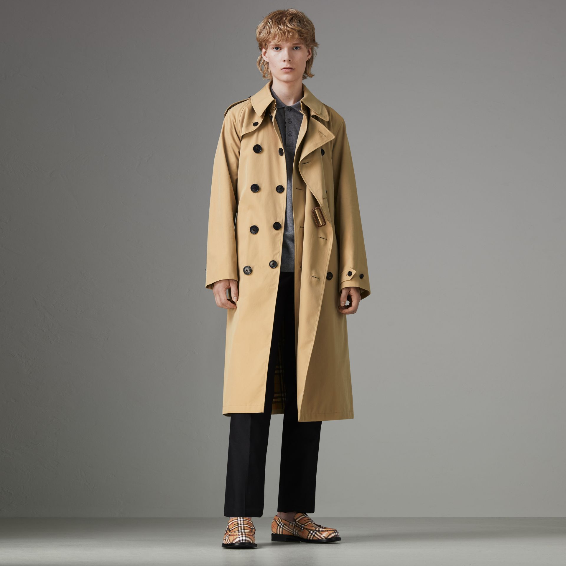 Gosha x Burberry Reconstructed Trench Coat in Honey | Burberry Singapore - gallery image 0