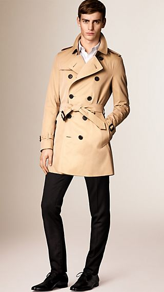 The Sandringham - Mid-length Heritage Trench Coat