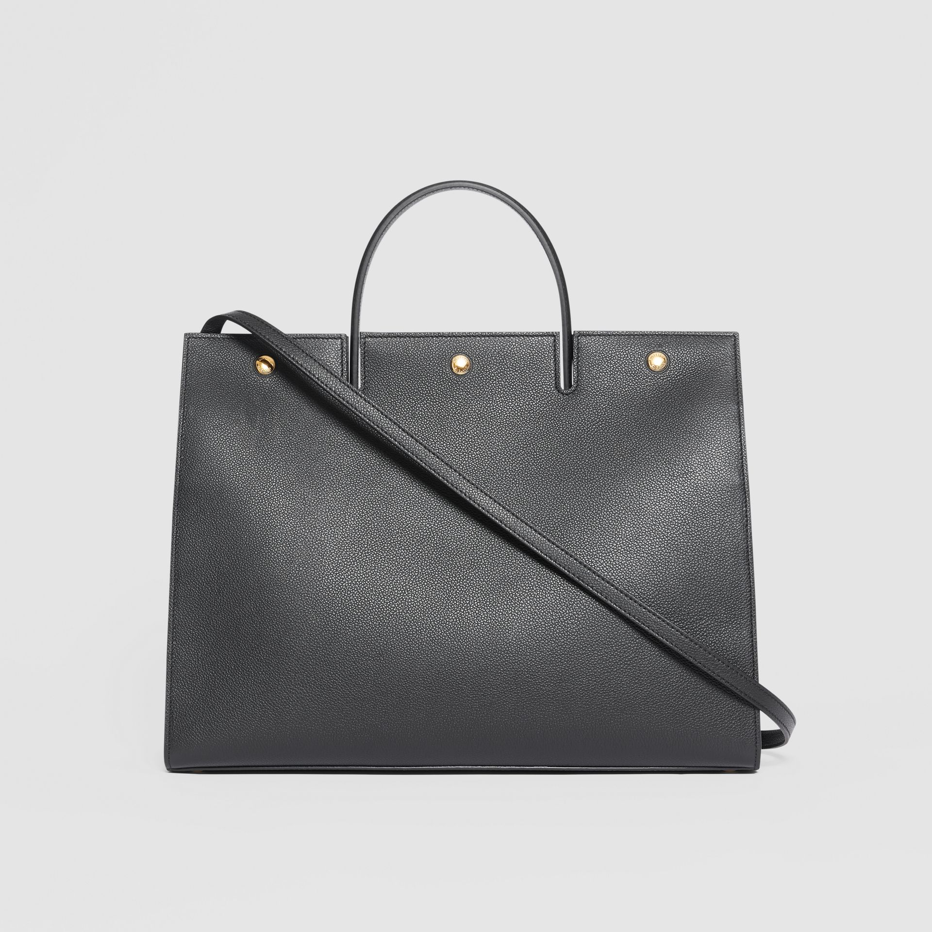 Grand sac Title en cuir (Noir) - Femme | Burberry - photo de la galerie 7