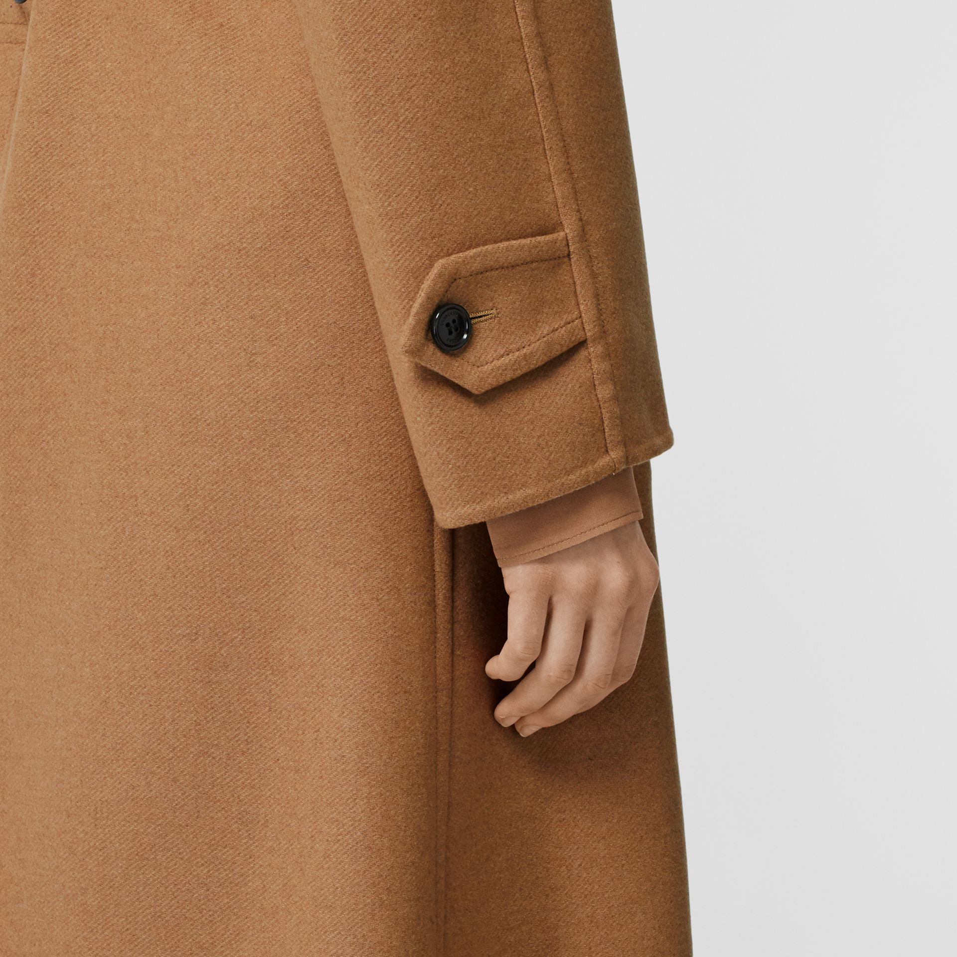 Cashmere Trench Coat in Bronze - Women | Burberry Singapore - gallery image 5