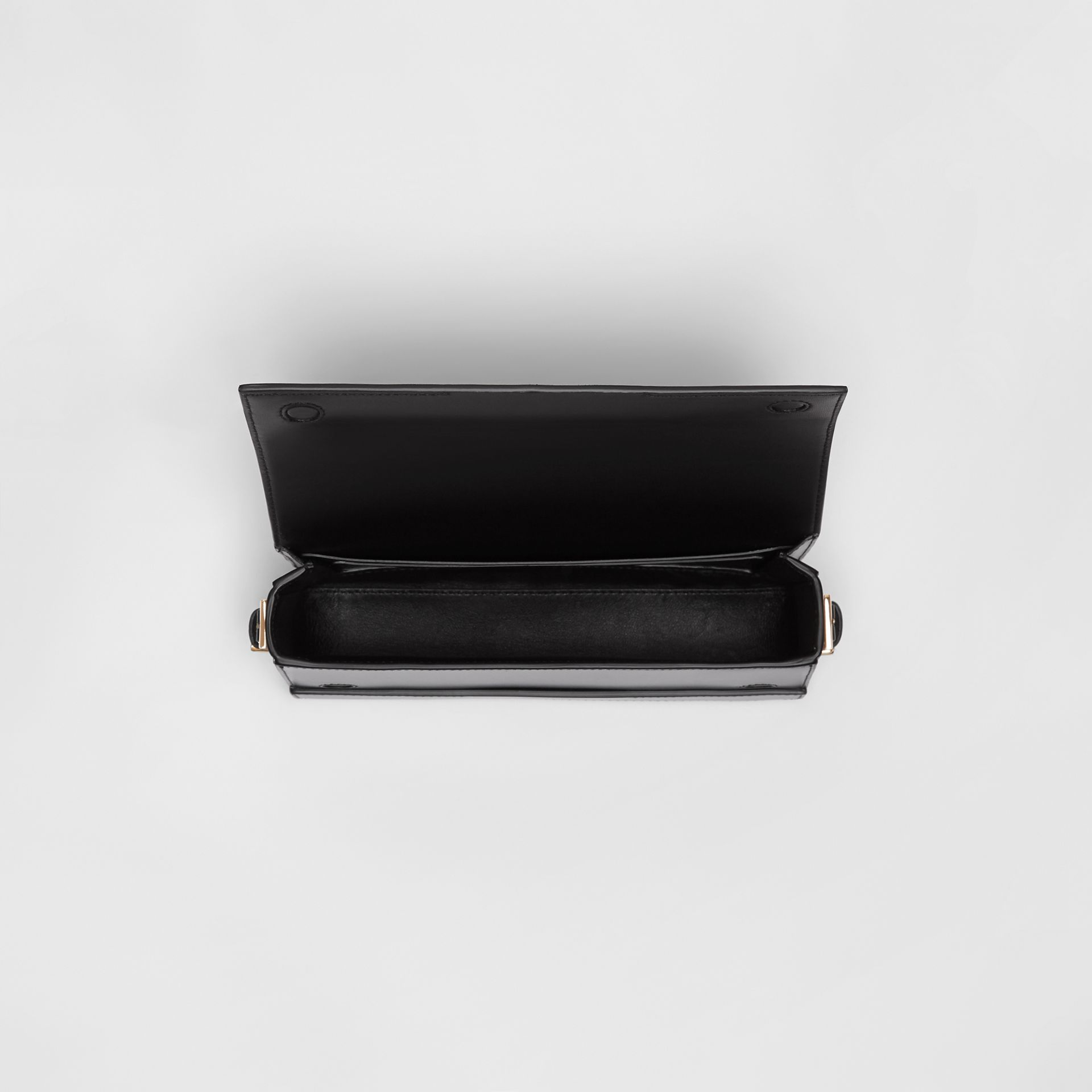 Mini Leather Grace Bag in Black - Women | Burberry - gallery image 4