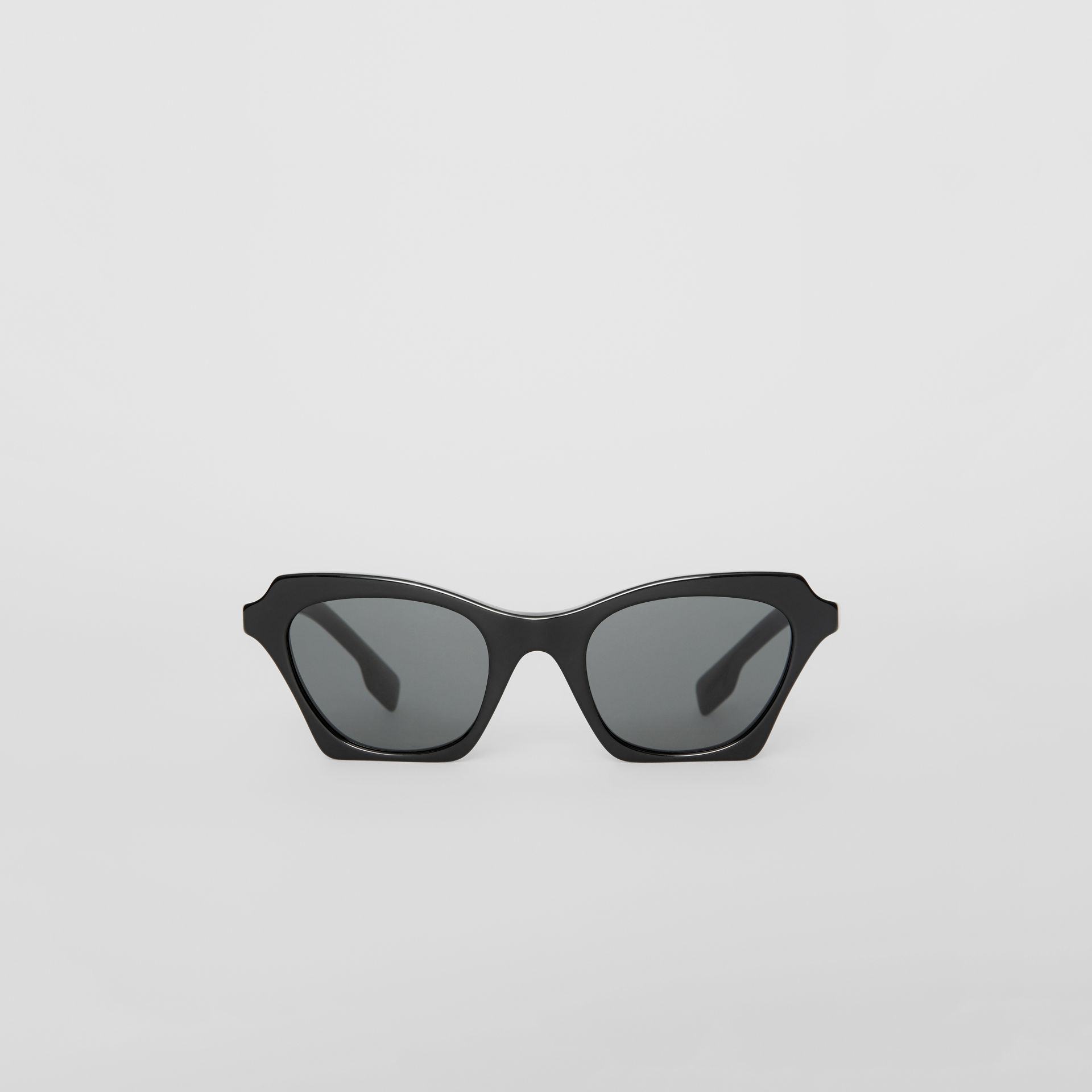 Butterfly Frame Sunglasses in Black - Women | Burberry - gallery image 0