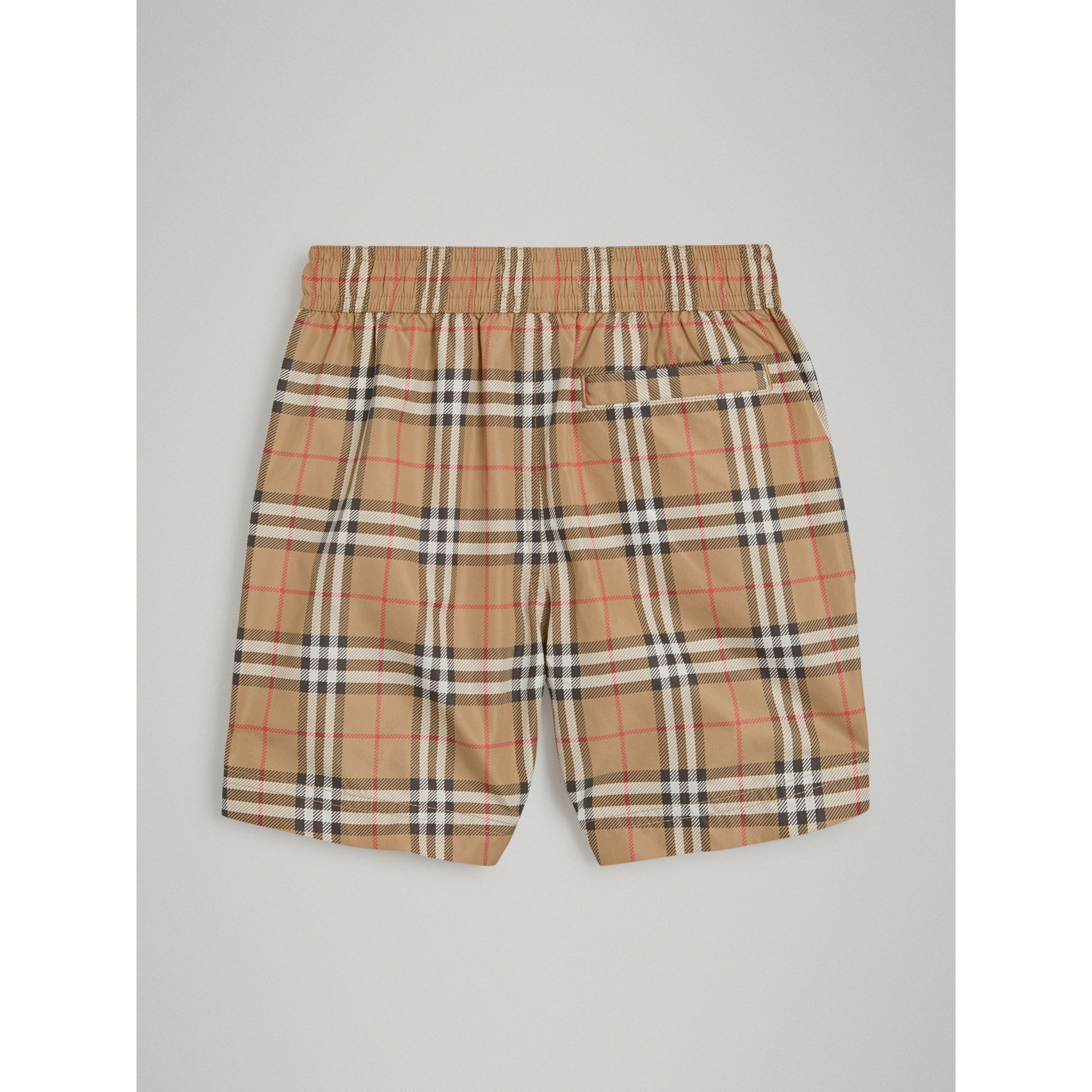 Vintage Check Swim Shorts in Camel - Boy | Burberry Australia - gallery image 3