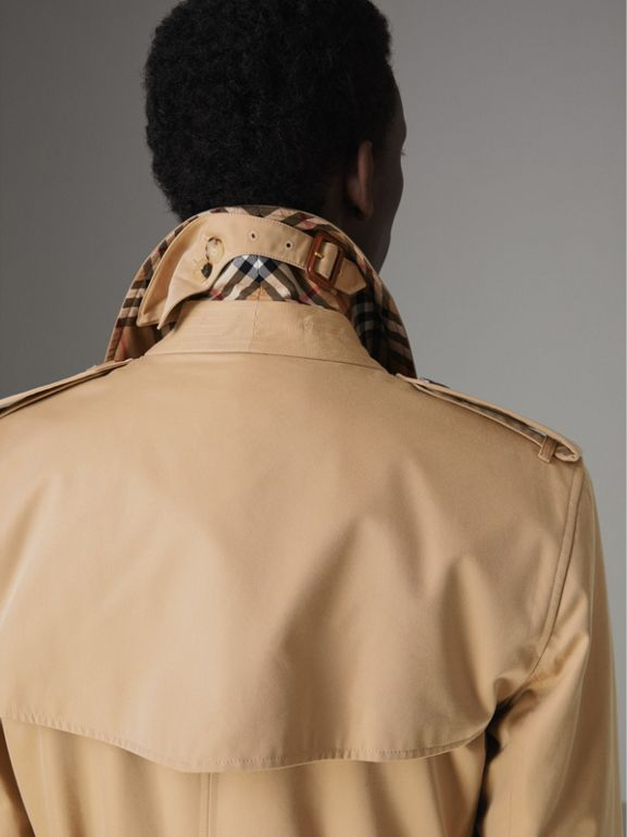 The Long Kensington Heritage Trench Coat in Honey - Men | Burberry Canada - cell image 1