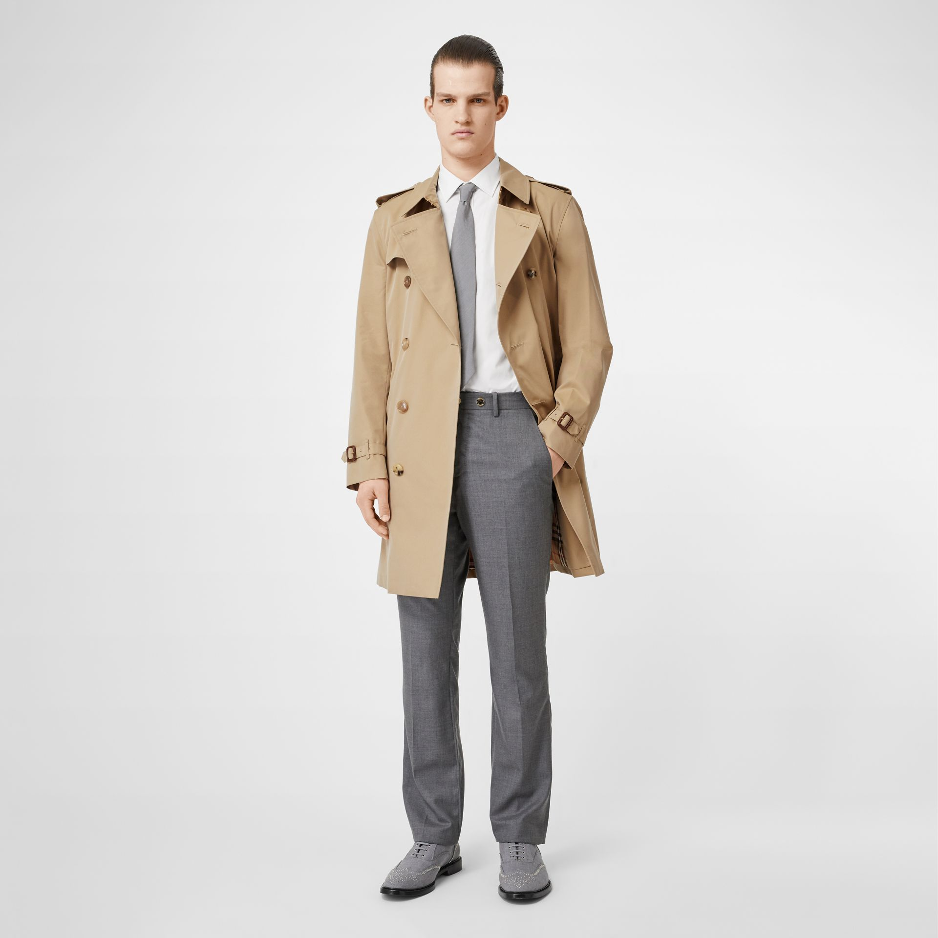 The Kensington Heritage Trench Coat in Honey - Men | Burberry Canada - gallery image 0
