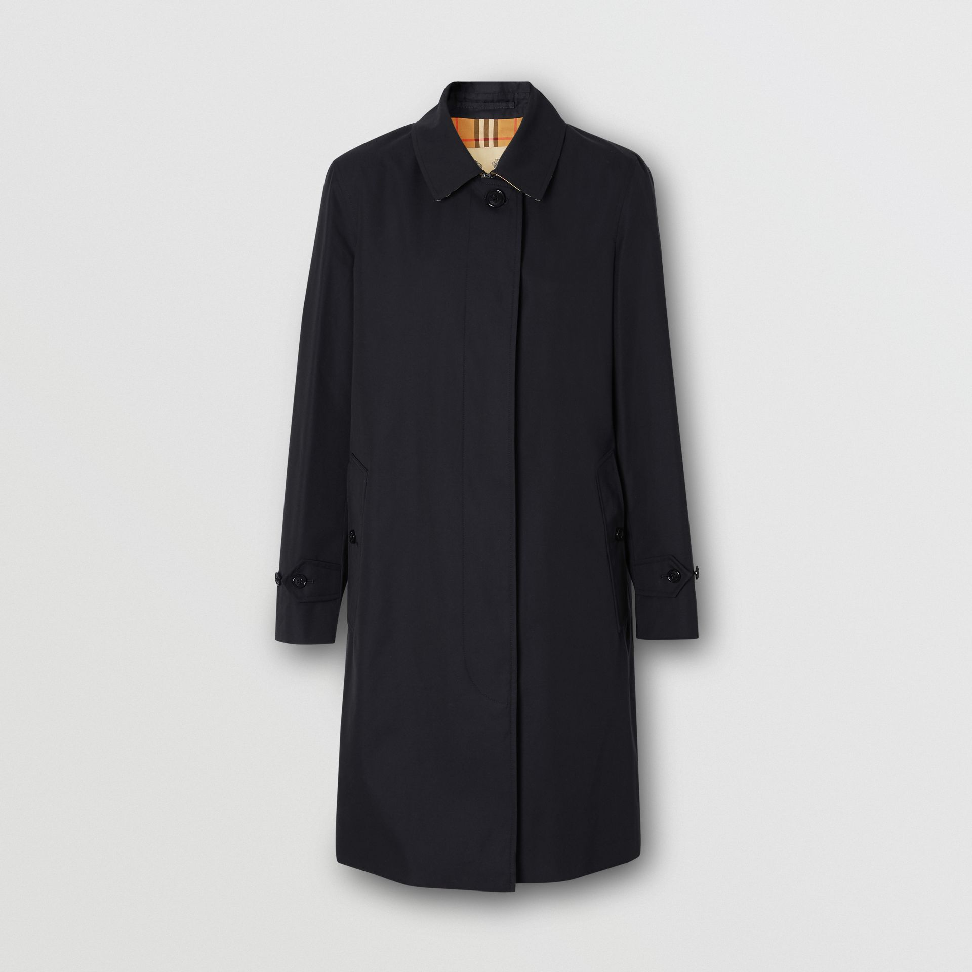 The Pimlico Heritage Car Coat in Midnight - Women | Burberry United Kingdom - gallery image 3