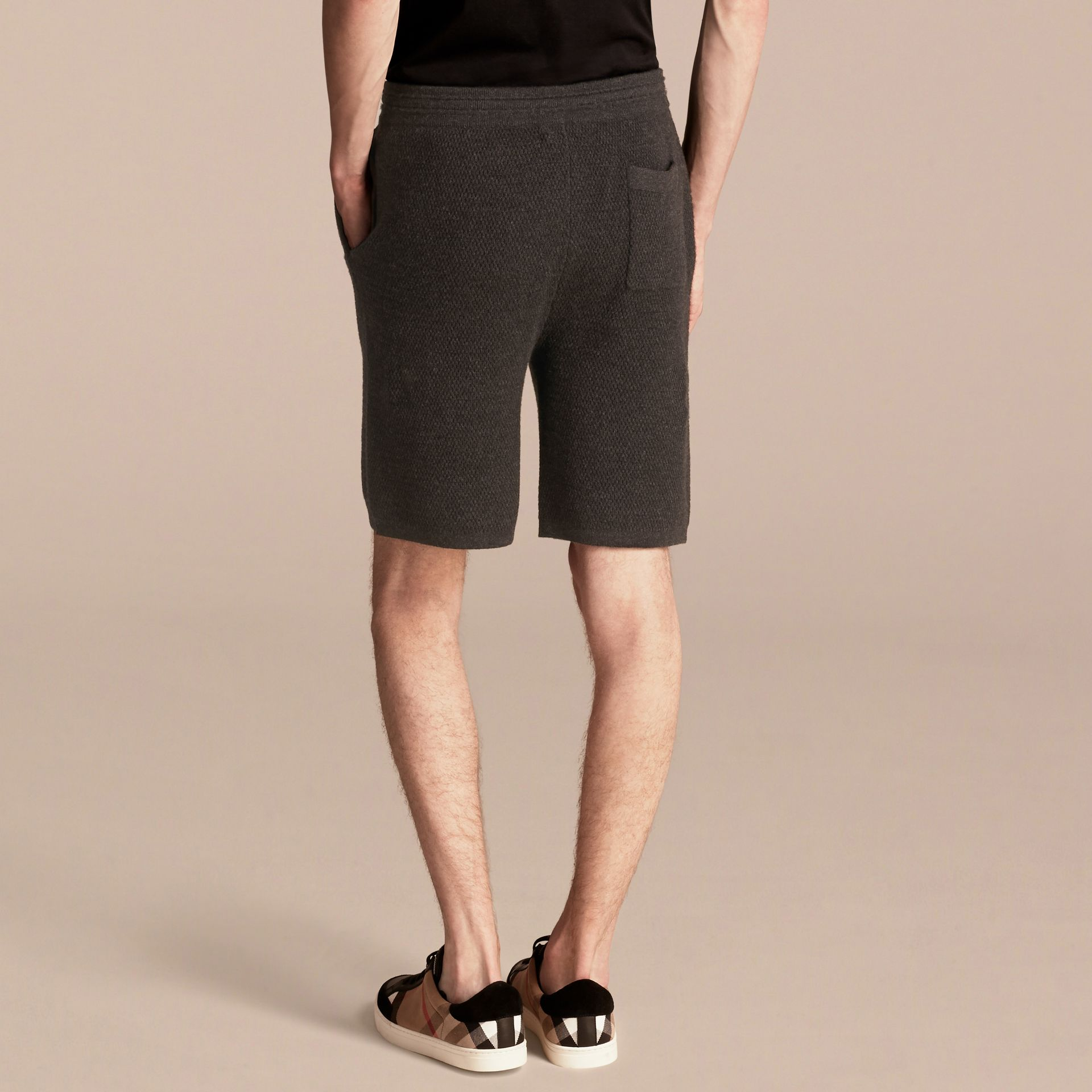 Knitted Cashmere Shorts - gallery image 2