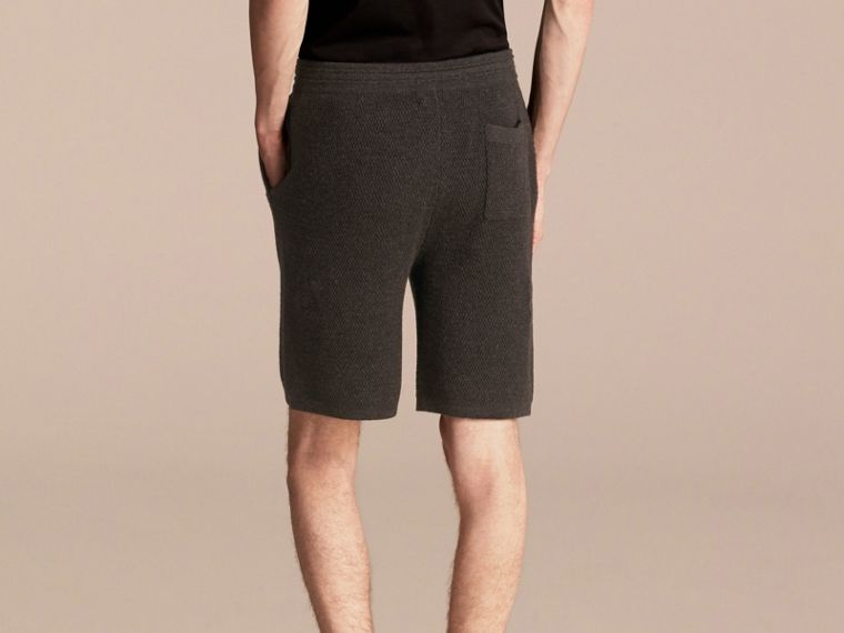 Knitted Cashmere Shorts - cell image 1