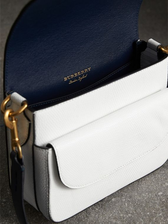 The Square Satchel in Lizard in White - Women | Burberry - cell image 3