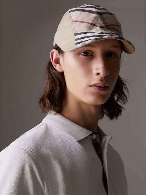 Gosha x Burberry Duckbill Cap in Honey | Burberry United Kingdom - cell image 3