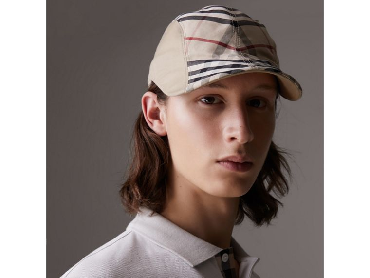 Gosha x Burberry Duckbill Cap in Honey | Burberry - cell image 4