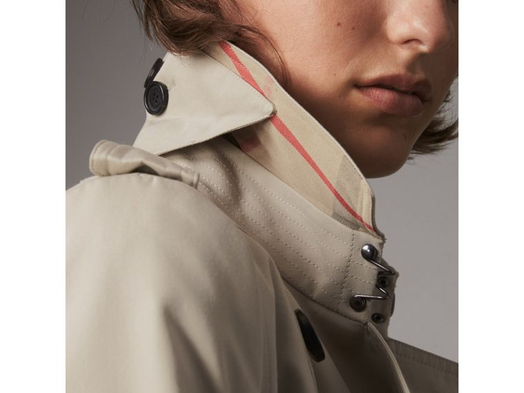 The Chelsea – Trench Heritage long (Stone) - Femme | Burberry - cell image 1