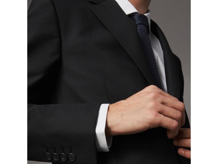 Klassisch geschnittener Anzug aus Wolle (Schwarz) - Herren | Burberry - cell image 1