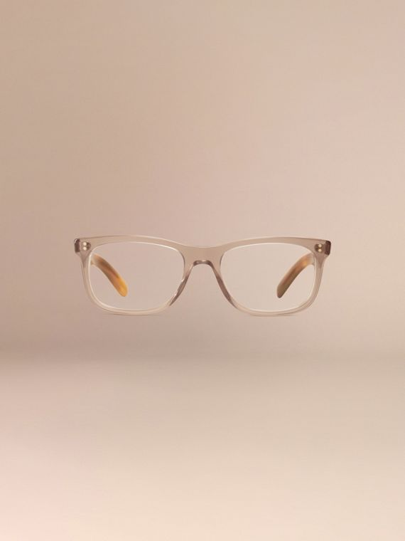 Square Optical Frames Smokey Grey - cell image 2