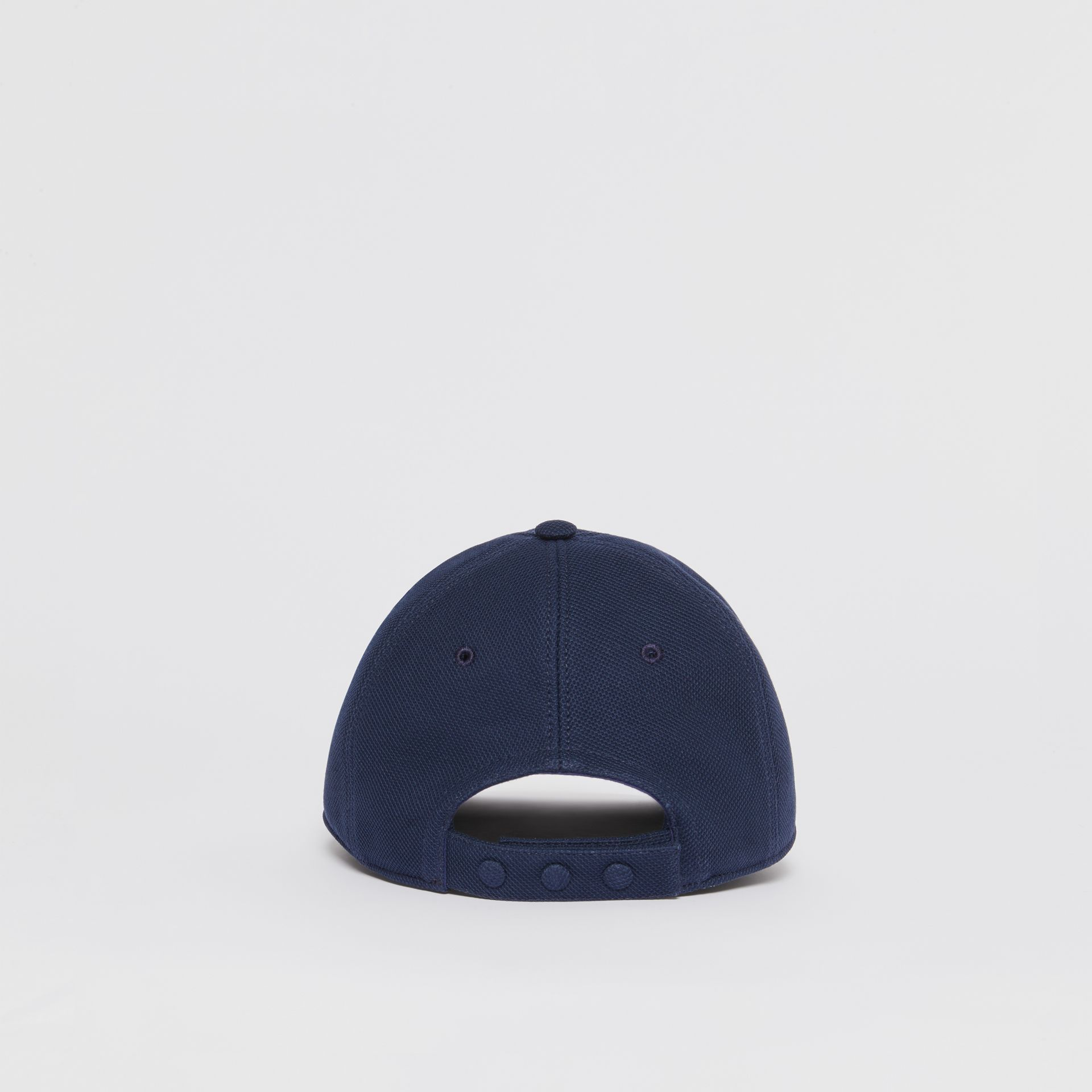 Monogram Motif Baseball Cap in Navy | Burberry - gallery image 4