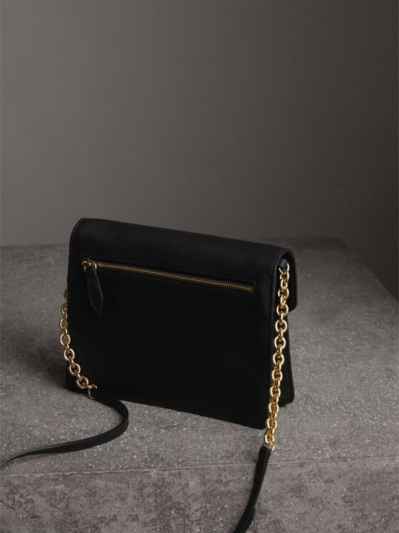 Small Leather Crossbody Bag in Black - Women | Burberry Hong Kong - cell image 3