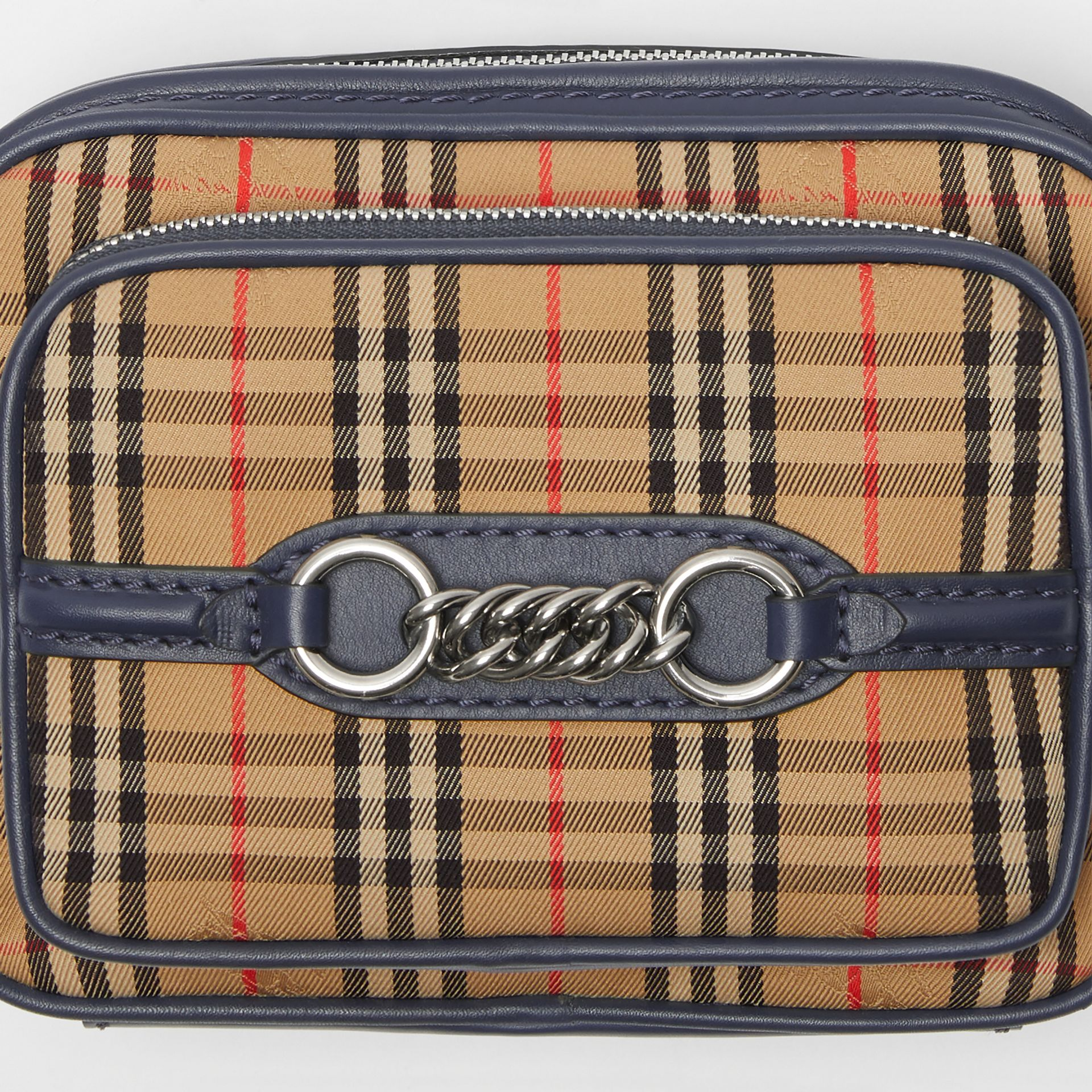 The Link Camera Bag im Karodesign (Tintenblau) - Damen | Burberry - Galerie-Bild 1