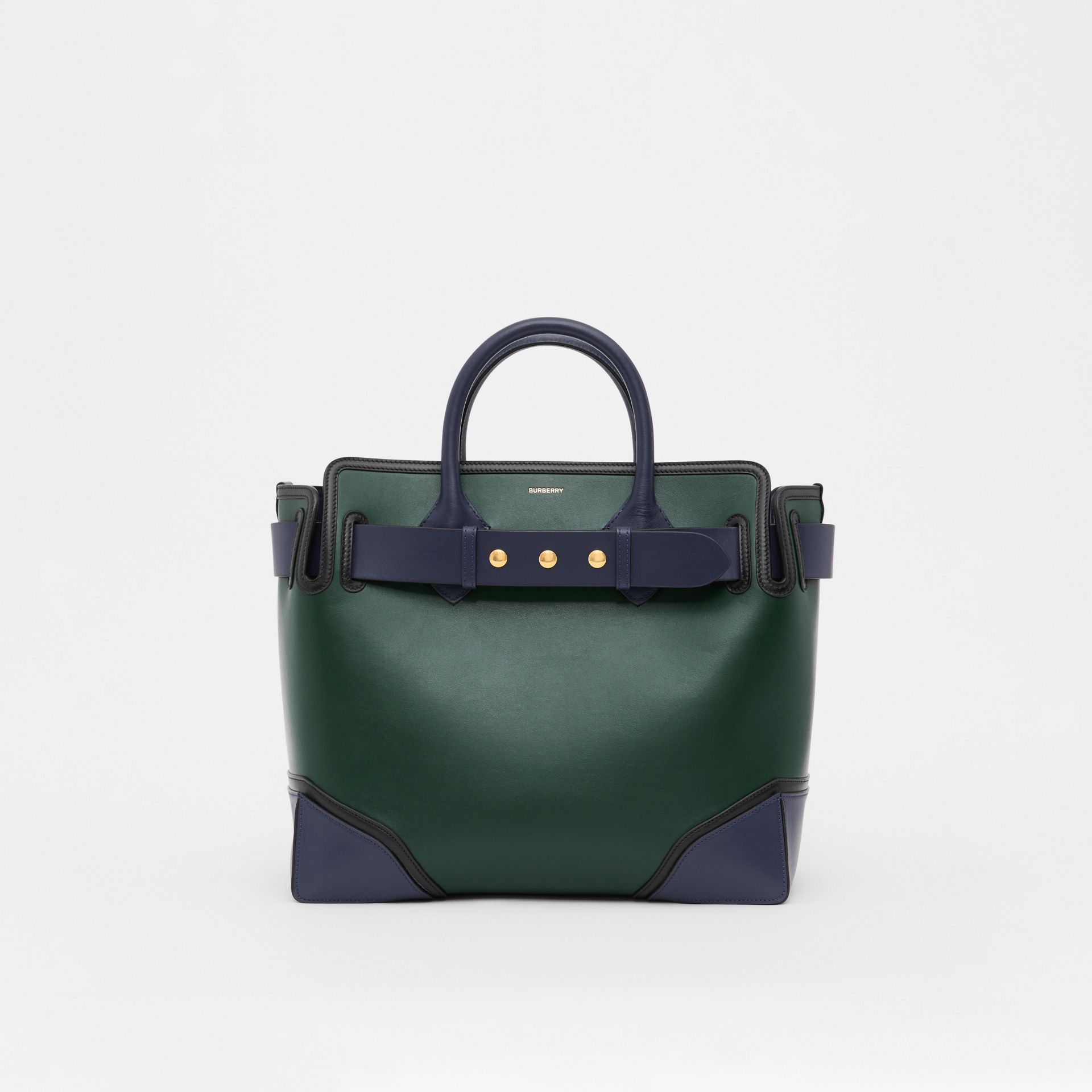 The Medium Leather Triple Stud Belt Bag in Dark Pine Green - Women | Burberry Hong Kong S.A.R - gallery image 0