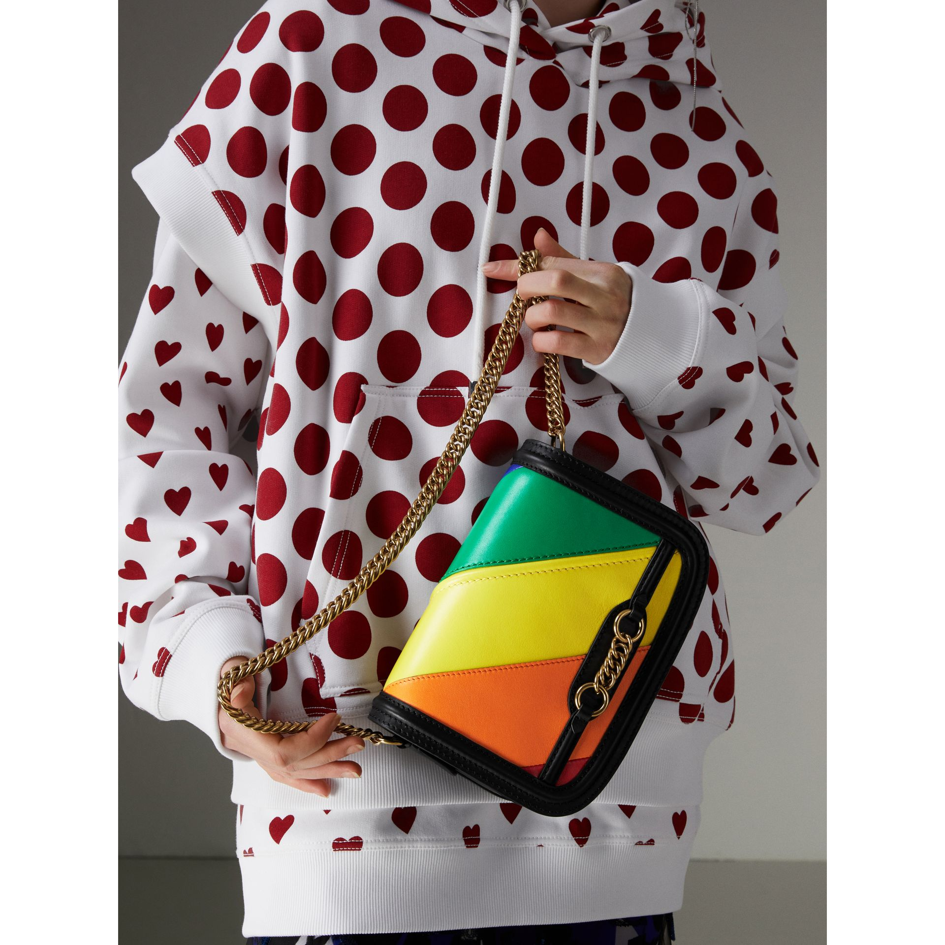 The Link Bag aus Leder in Regenbogenoptik - Damen | Burberry - Galerie-Bild 3